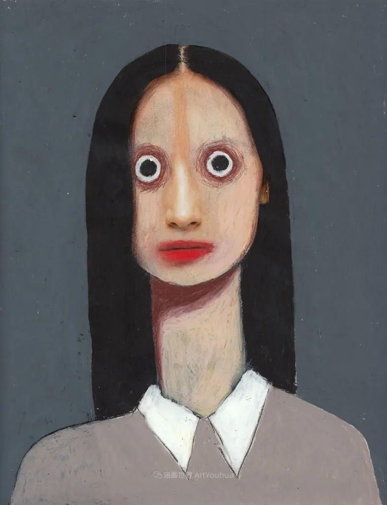 令人震惊的、美丽而奇异的肖像插图77