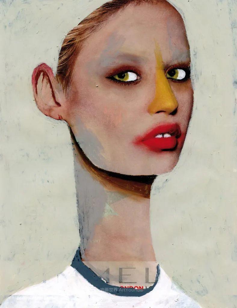令人震惊的、美丽而奇异的肖像插图79