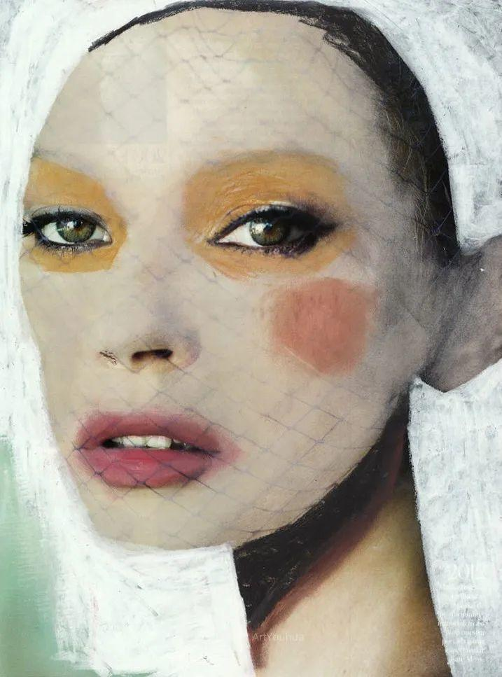 令人震惊的、美丽而奇异的肖像插图81
