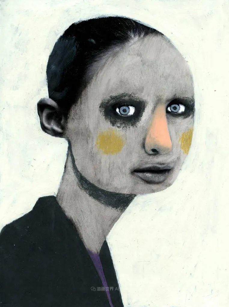令人震惊的、美丽而奇异的肖像插图85