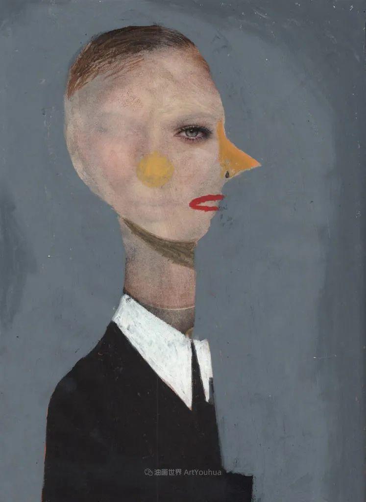 令人震惊的、美丽而奇异的肖像插图87