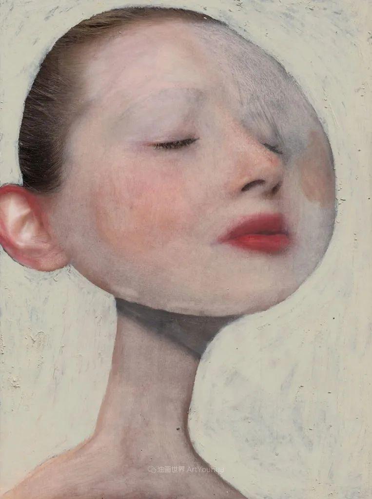令人震惊的、美丽而奇异的肖像插图89
