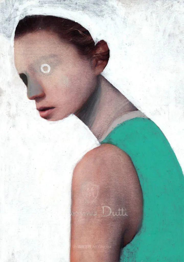 令人震惊的、美丽而奇异的肖像插图91