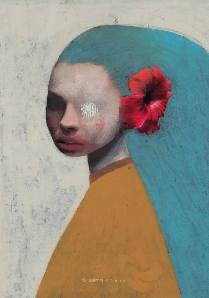 令人震惊的、美丽而奇异的肖像插图95