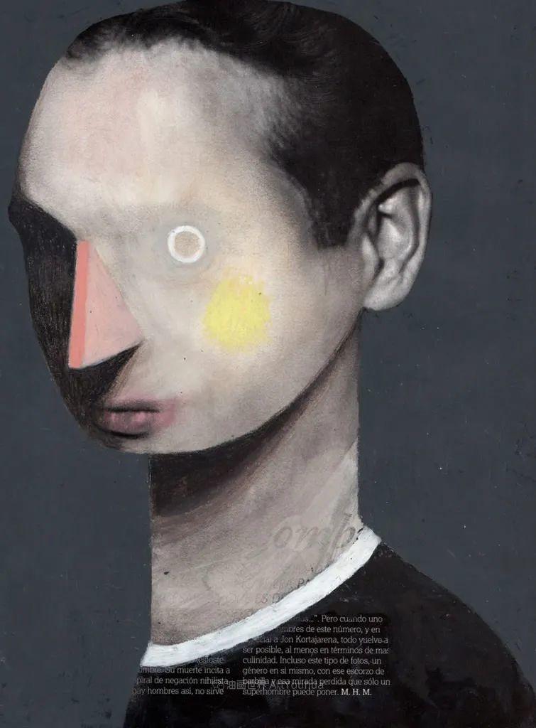 令人震惊的、美丽而奇异的肖像插图97