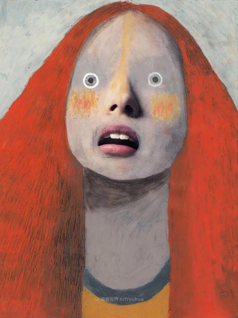 令人震惊的、美丽而奇异的肖像插图101