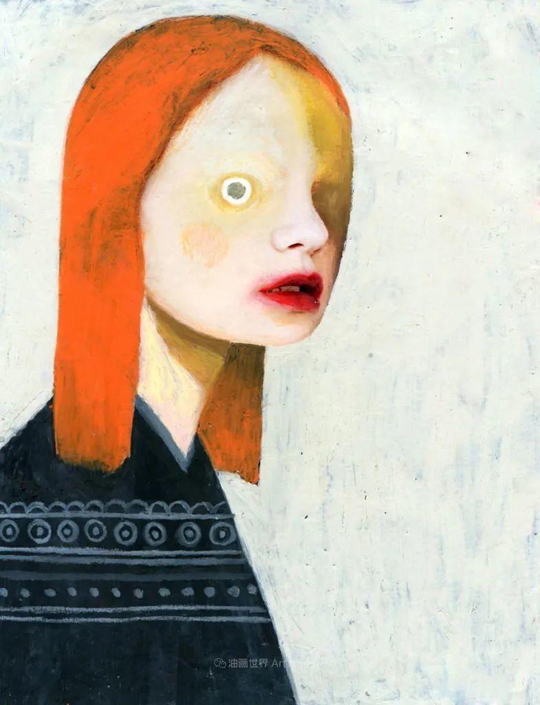 令人震惊的、美丽而奇异的肖像插图105