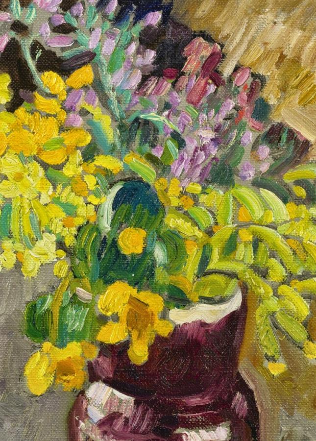笔触粗犷的花卉,令人陶醉色彩!插图15