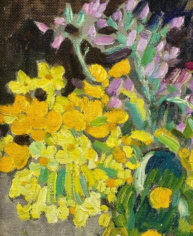 笔触粗犷的花卉,令人陶醉色彩!插图17