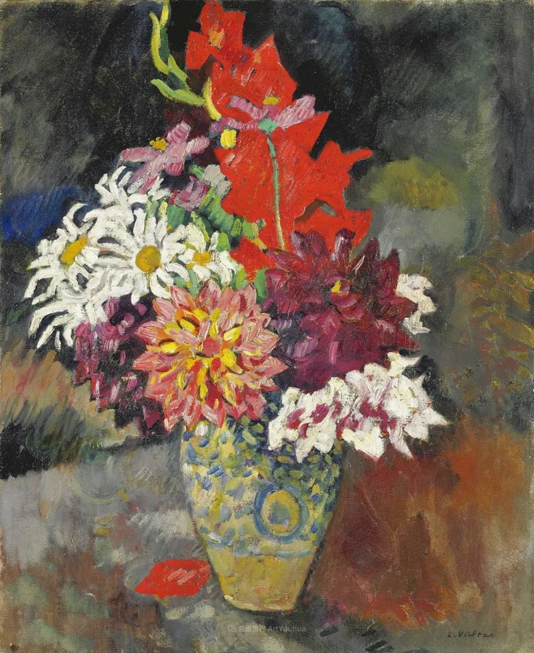 笔触粗犷的花卉,令人陶醉色彩!插图29