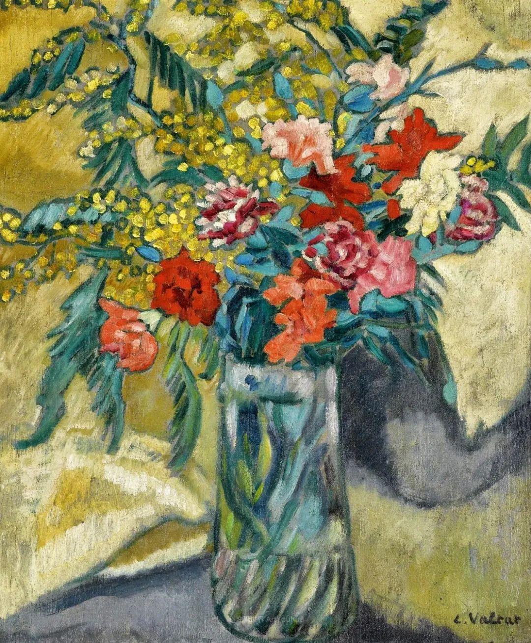 笔触粗犷的花卉,令人陶醉色彩!插图47