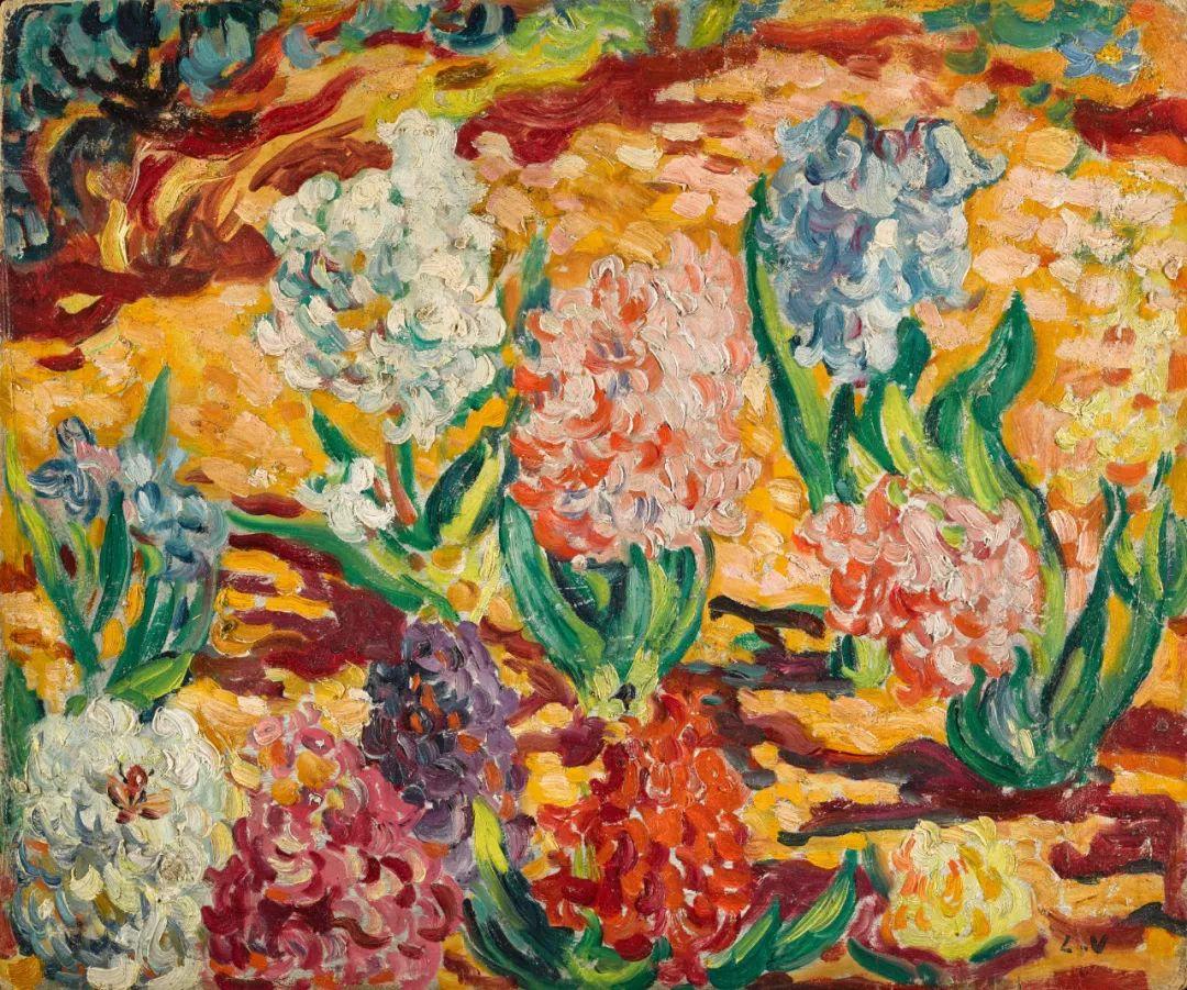 笔触粗犷的花卉,令人陶醉色彩!插图61