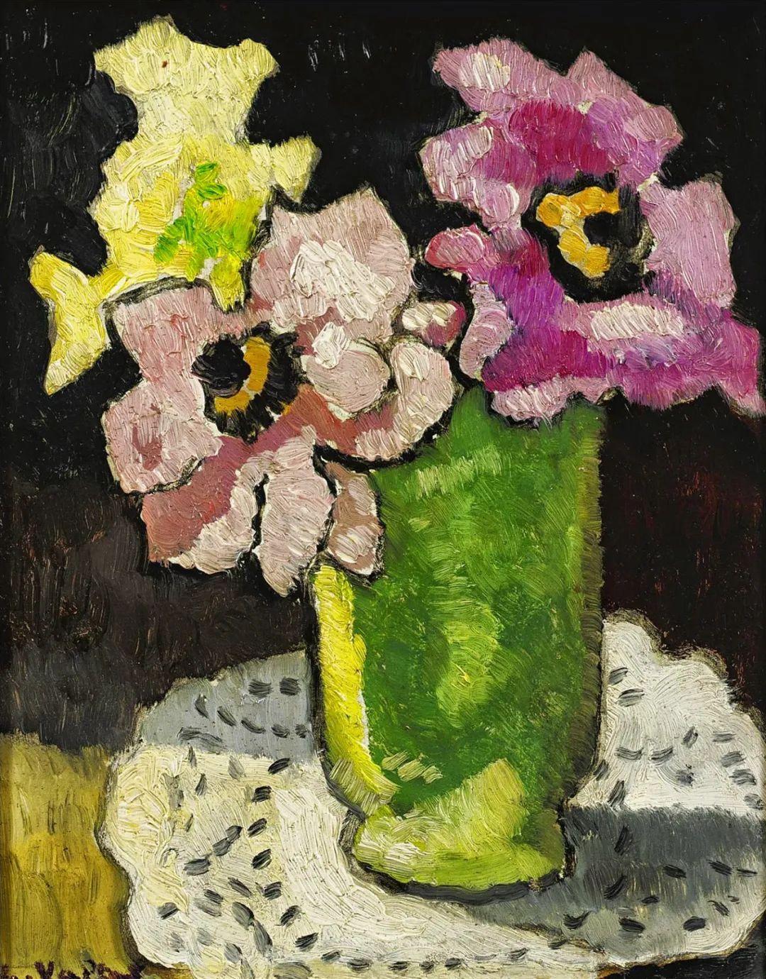 笔触粗犷的花卉,令人陶醉色彩!插图63