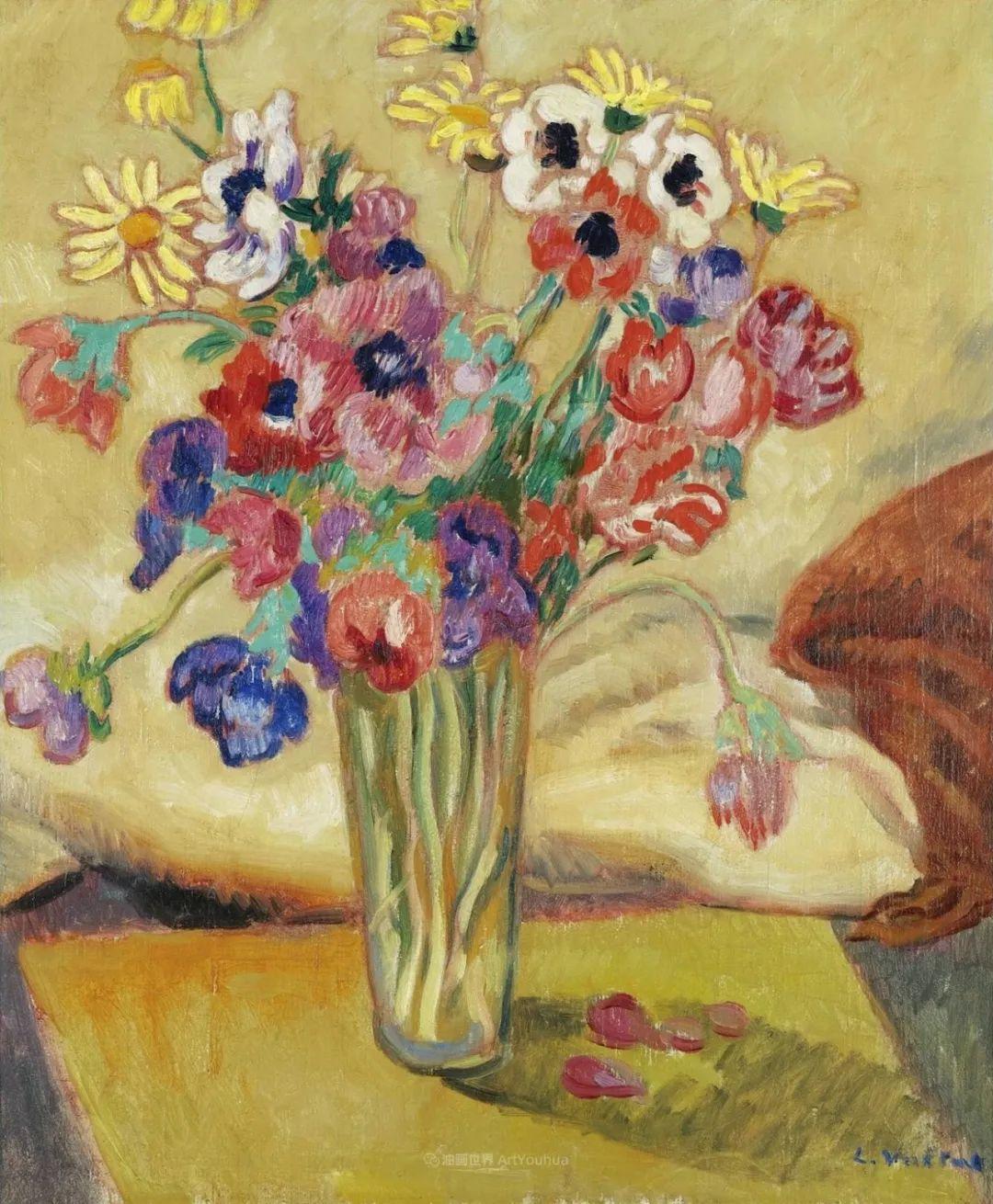 笔触粗犷的花卉,令人陶醉色彩!插图75