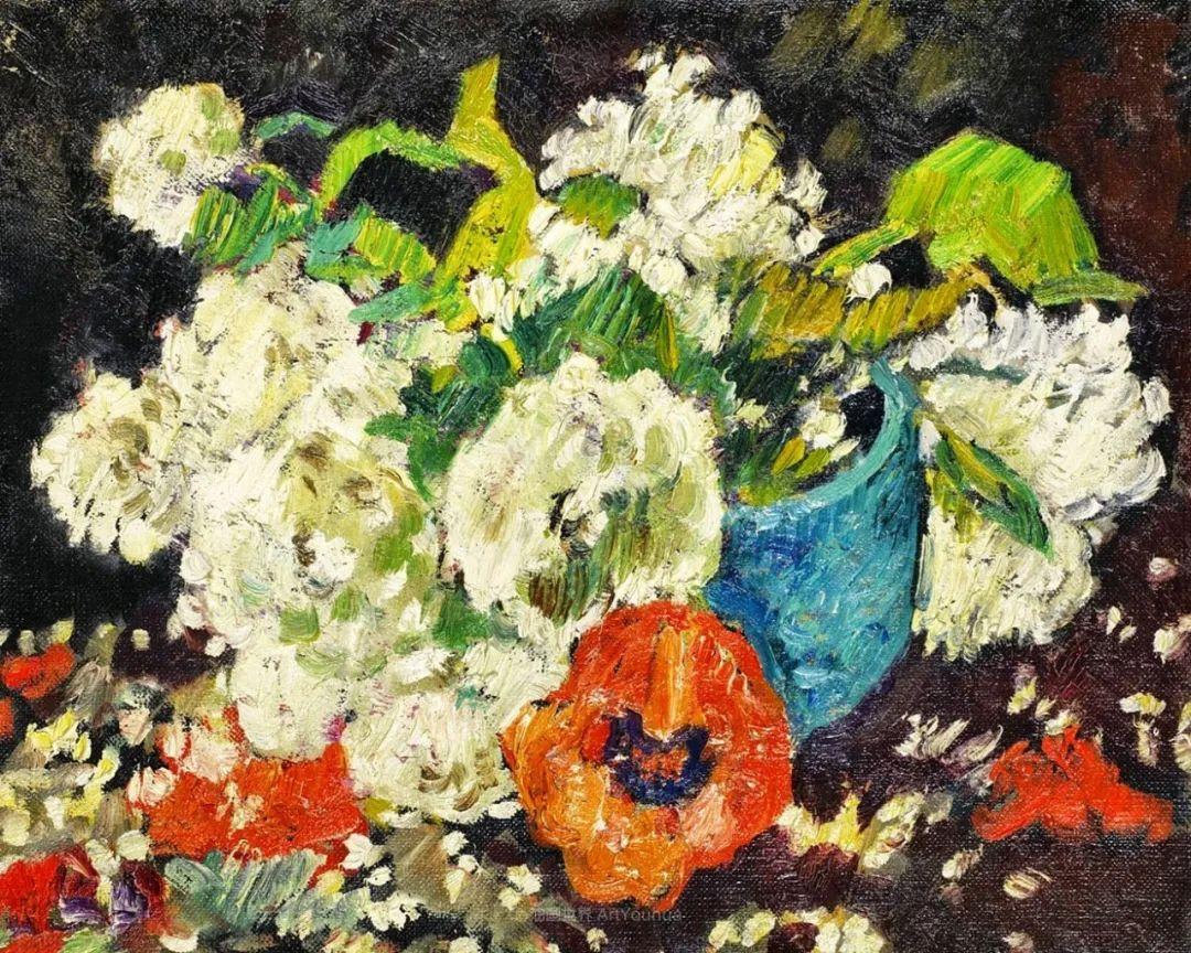 笔触粗犷的花卉,令人陶醉色彩!插图77