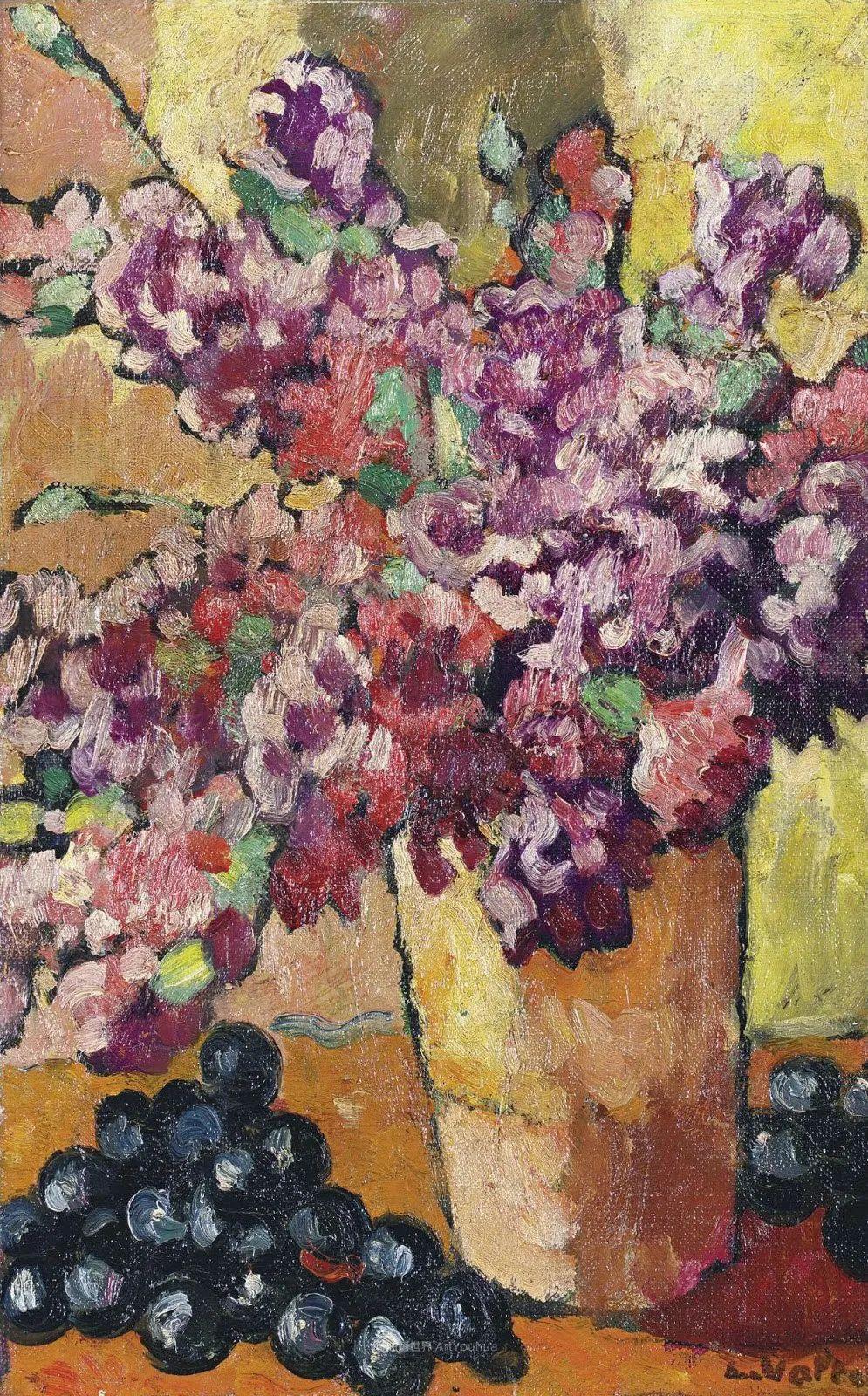 笔触粗犷的花卉,令人陶醉色彩!插图83
