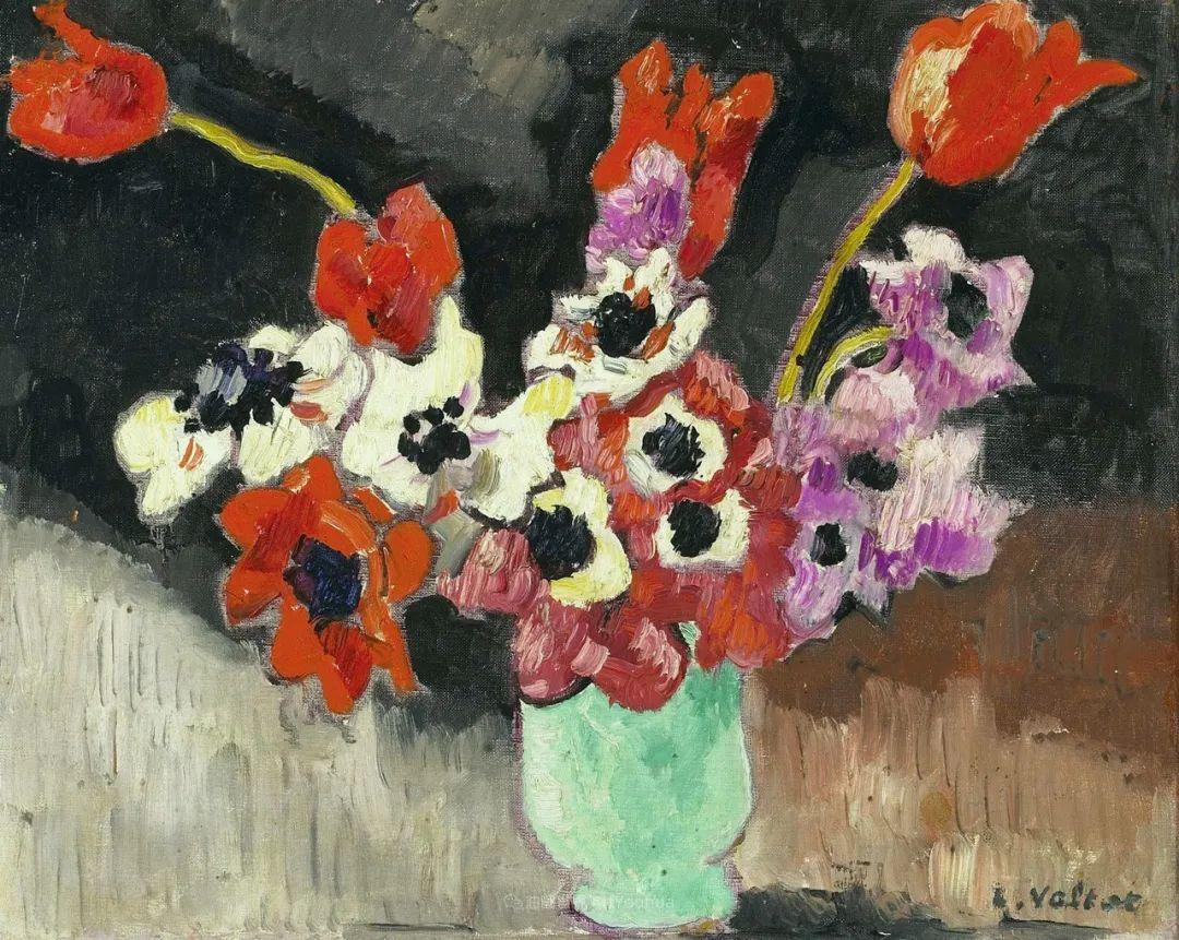 笔触粗犷的花卉,令人陶醉色彩!插图99