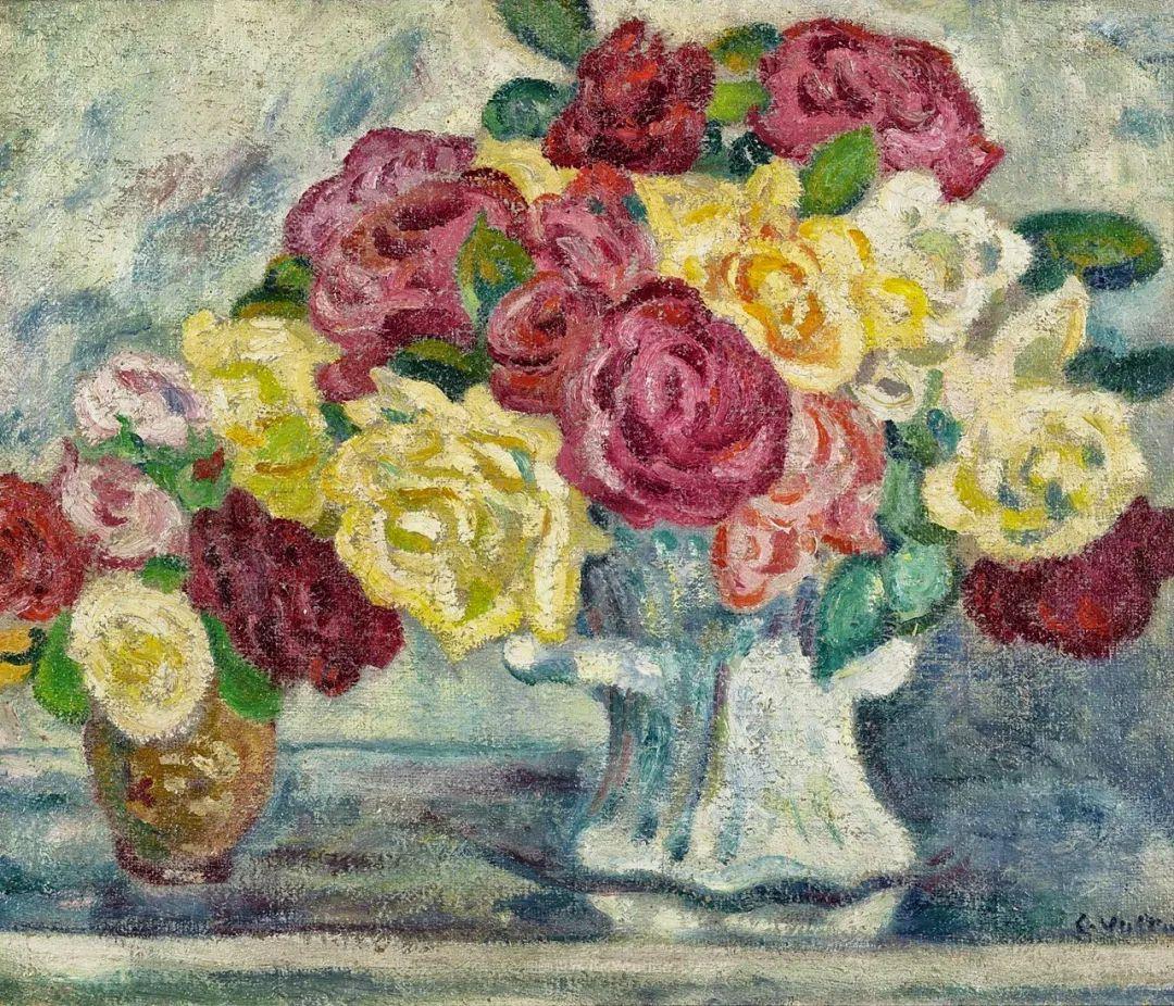 笔触粗犷的花卉,令人陶醉色彩!插图105