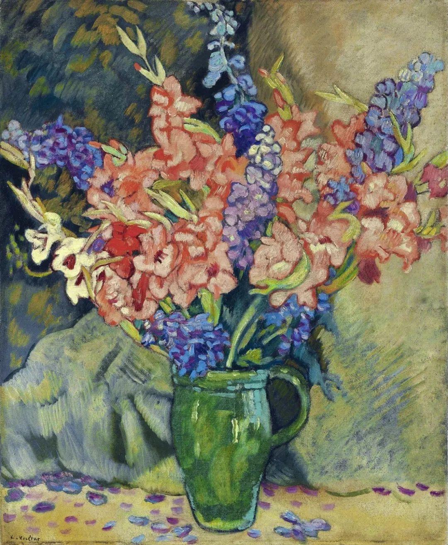 笔触粗犷的花卉,令人陶醉色彩!插图109