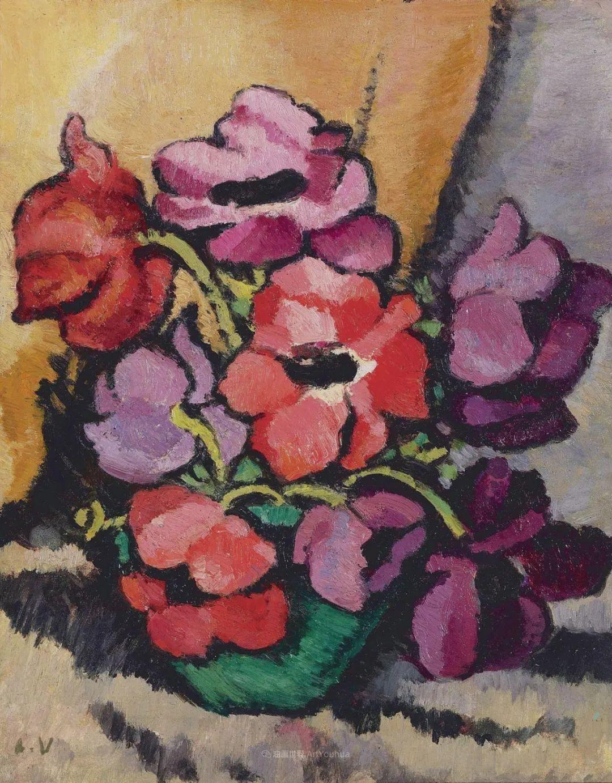 笔触粗犷的花卉,令人陶醉色彩!插图115