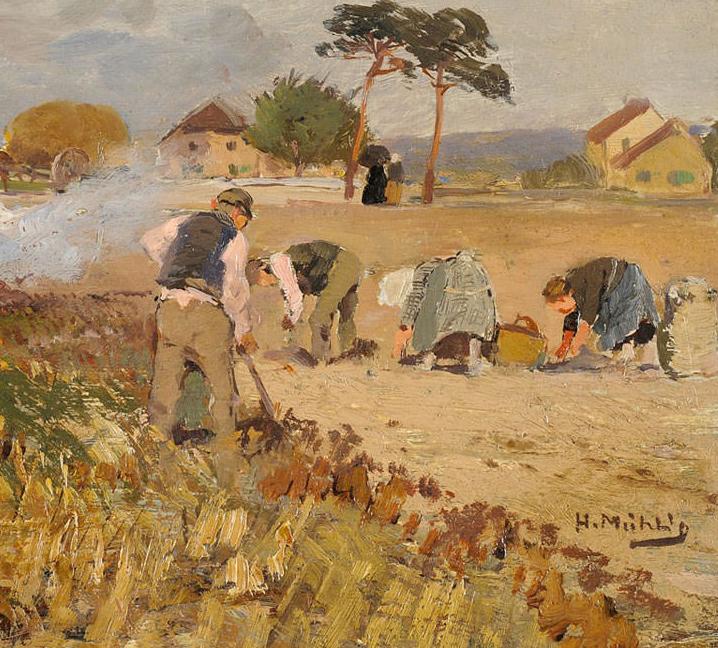 纯净明快的色彩,德国画家雨果·穆利格!插图29