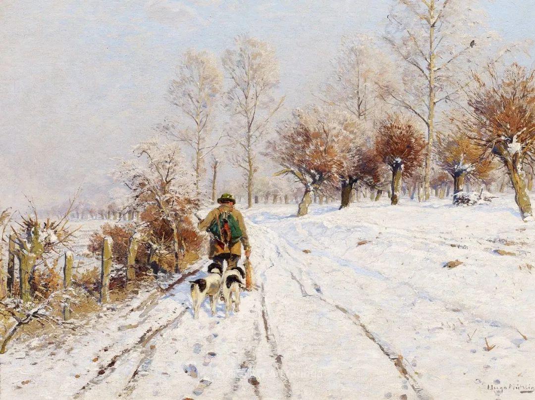 纯净明快的色彩,德国画家雨果·穆利格!插图45