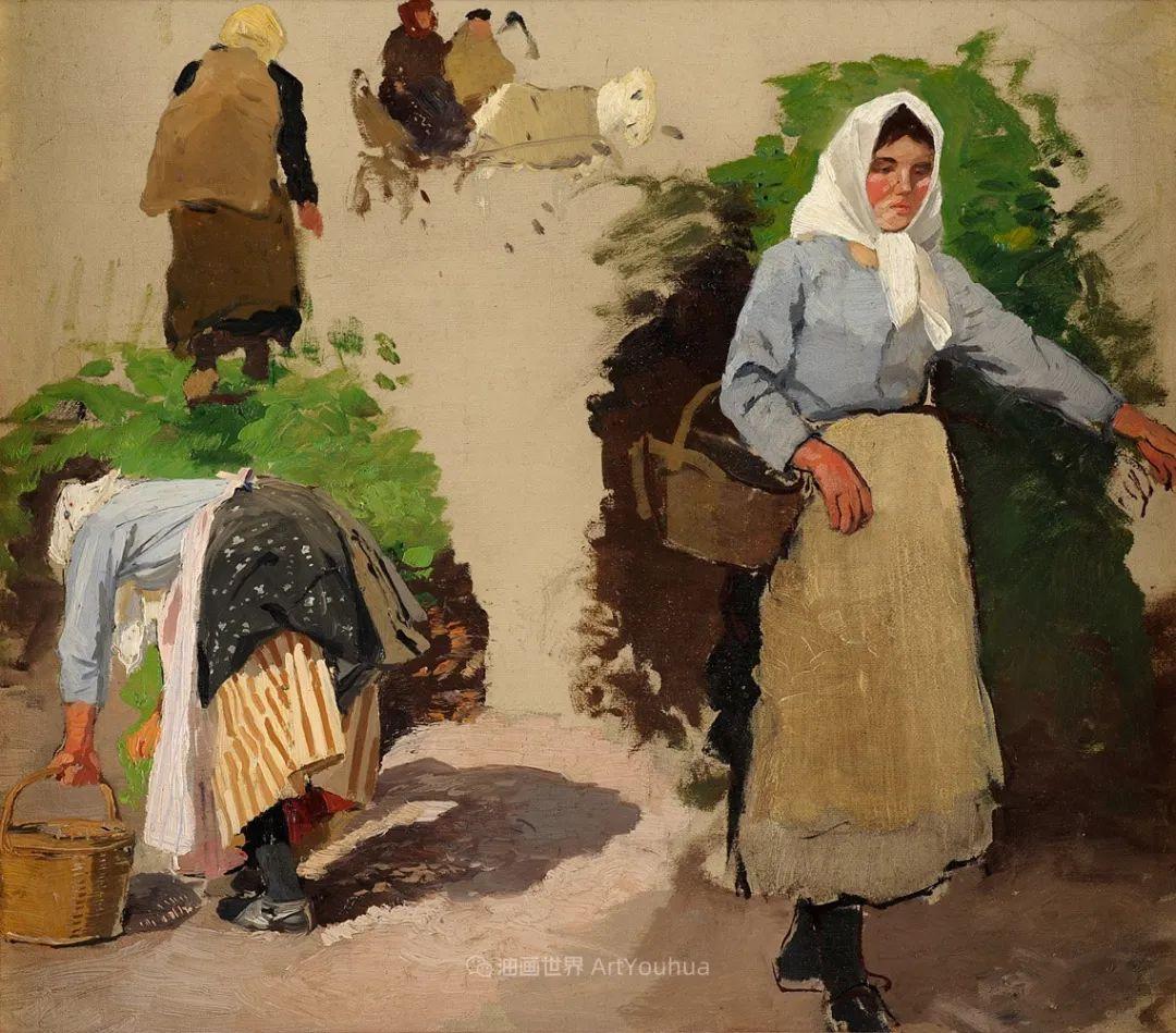 纯净明快的色彩,德国画家雨果·穆利格!插图89