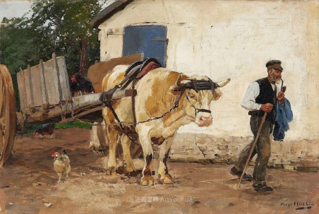 纯净明快的色彩,德国画家雨果·穆利格!插图99