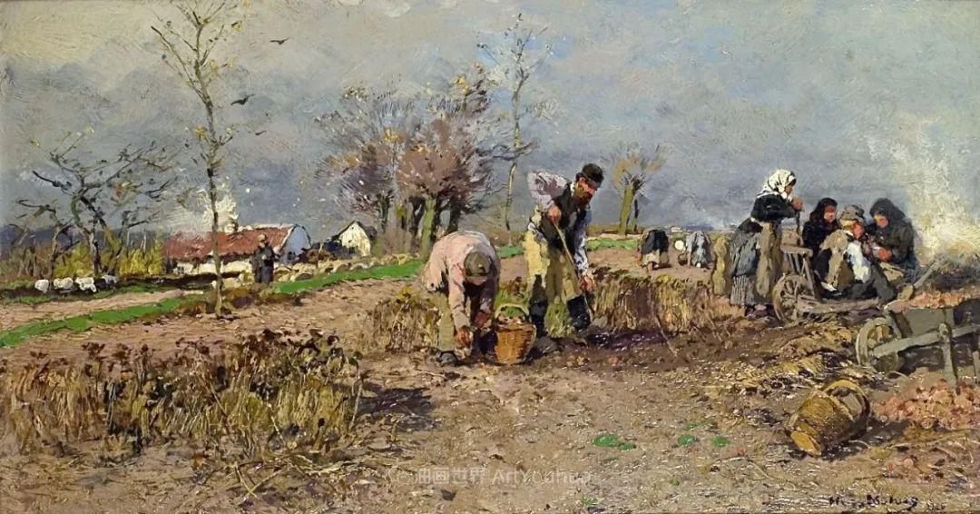 纯净明快的色彩,德国画家雨果·穆利格!插图107