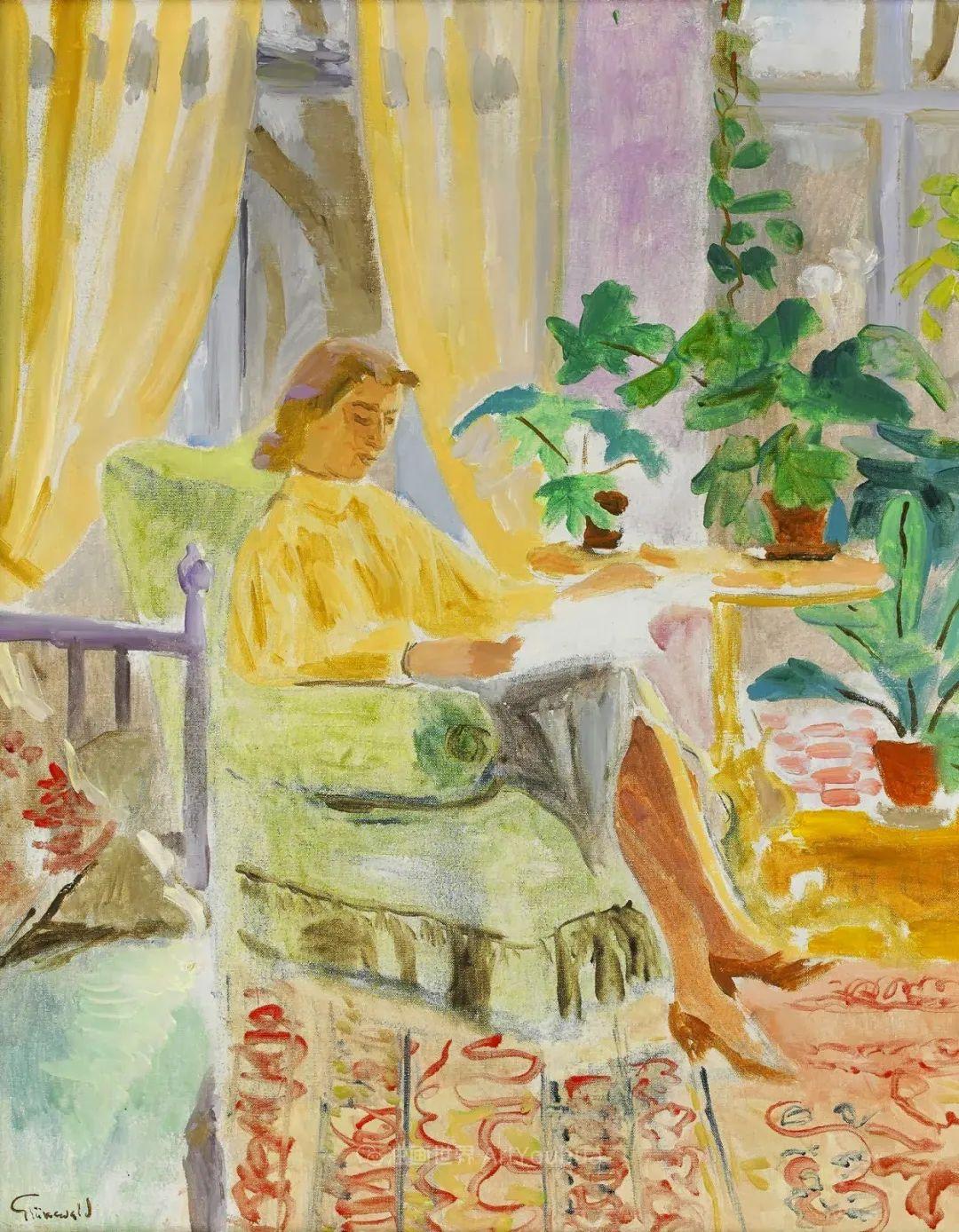 表现主义的色彩与笔触,第一代瑞典现代主义领军人物插图96