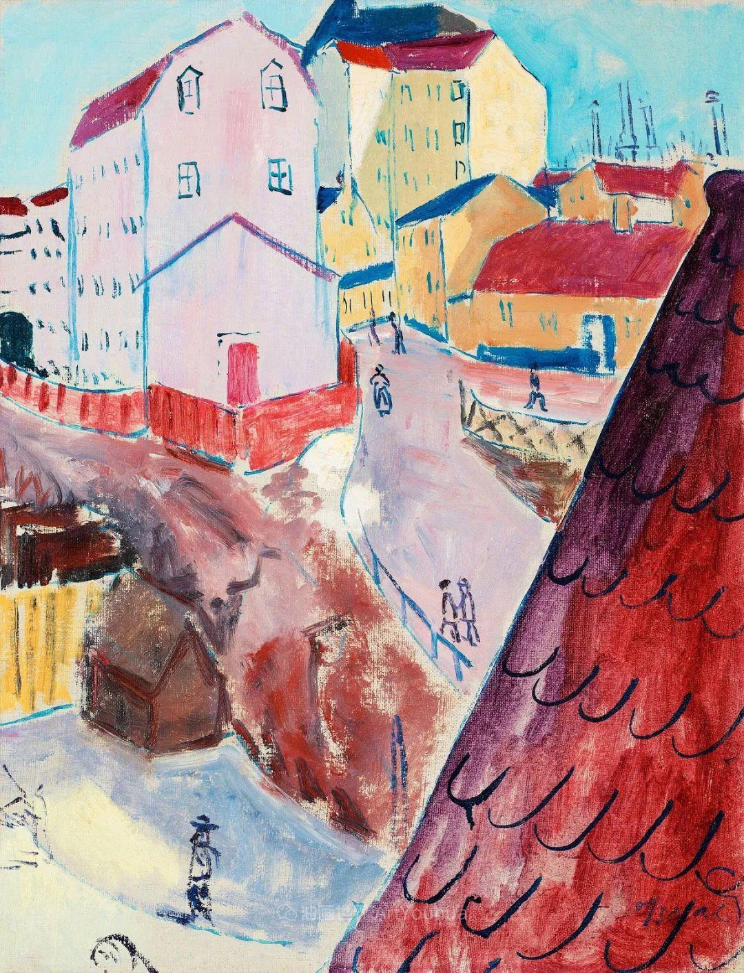 表现主义的色彩与笔触,第一代瑞典现代主义领军人物插图107