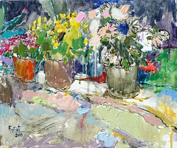 她的作品色彩丰富,充满爱意,富有生活气息!插图120