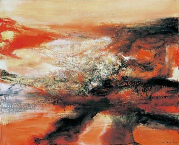 赵无极:我国的现实主义不仅否定了艺术,也否定了传统,艺术让我不怕死插图7