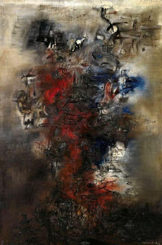 赵无极:我国的现实主义不仅否定了艺术,也否定了传统,艺术让我不怕死插图25