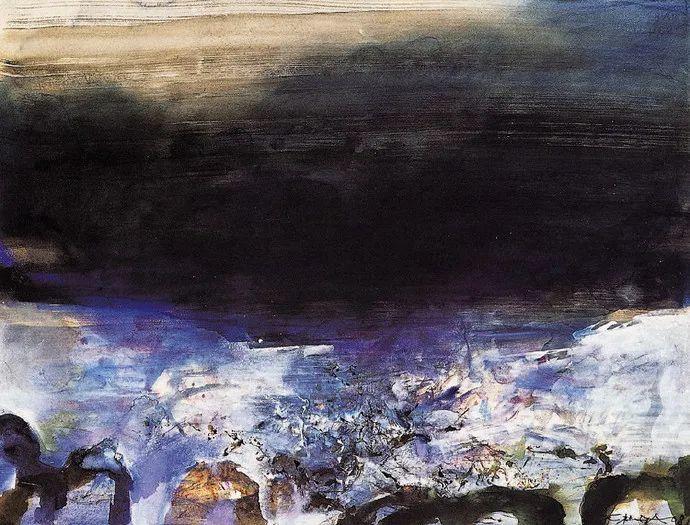 赵无极:我国的现实主义不仅否定了艺术,也否定了传统,艺术让我不怕死插图83