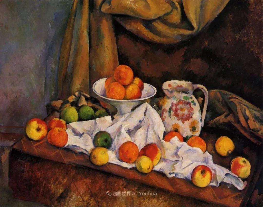 现代绘画之父塞尚,静物作品精选99幅插图19