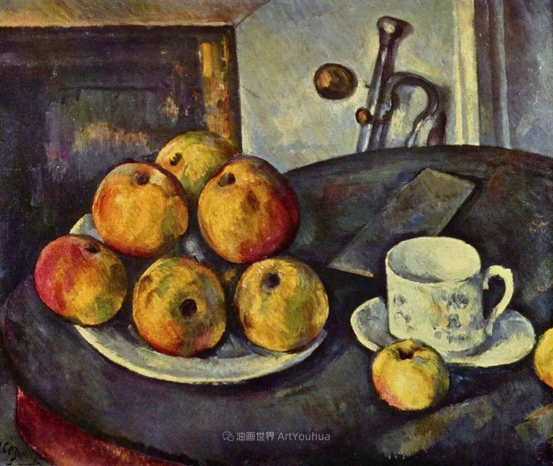 现代绘画之父塞尚,静物作品精选99幅插图21