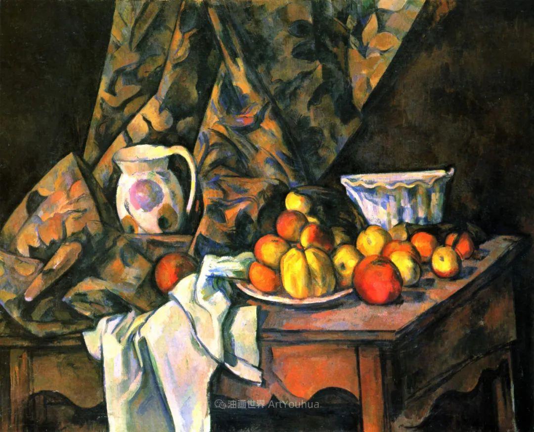 现代绘画之父塞尚,静物作品精选99幅插图41