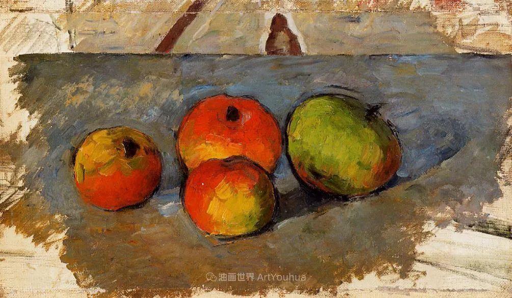 现代绘画之父塞尚,静物作品精选99幅插图49