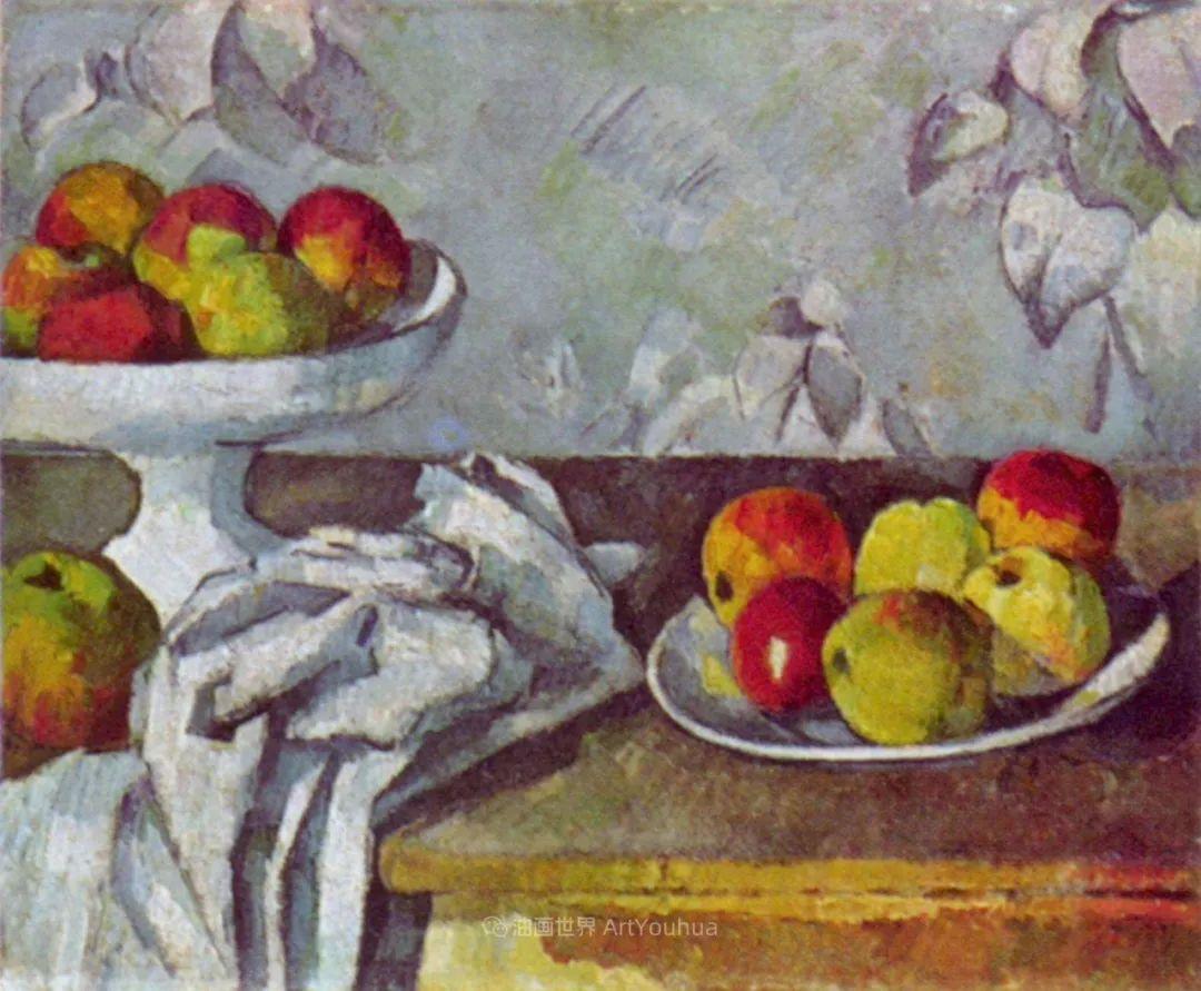 现代绘画之父塞尚,静物作品精选99幅插图51