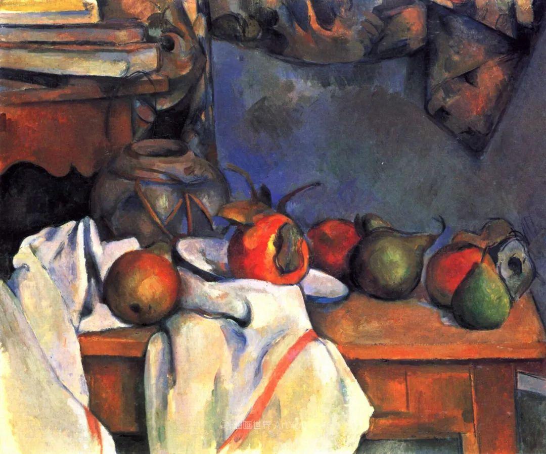 现代绘画之父塞尚,静物作品精选99幅插图53