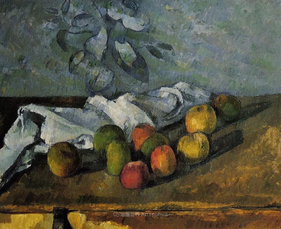 现代绘画之父塞尚,静物作品精选99幅插图55