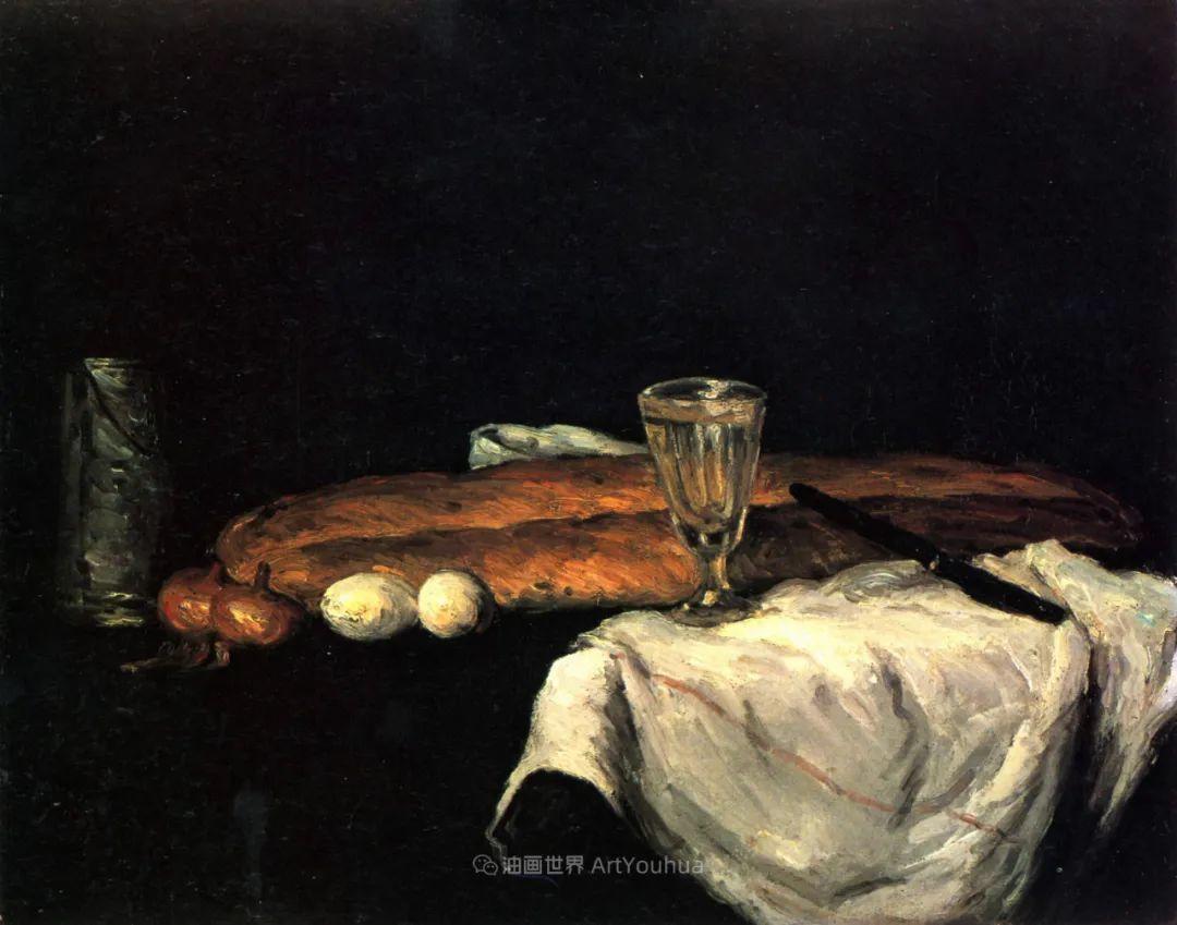 现代绘画之父塞尚,静物作品精选99幅插图89