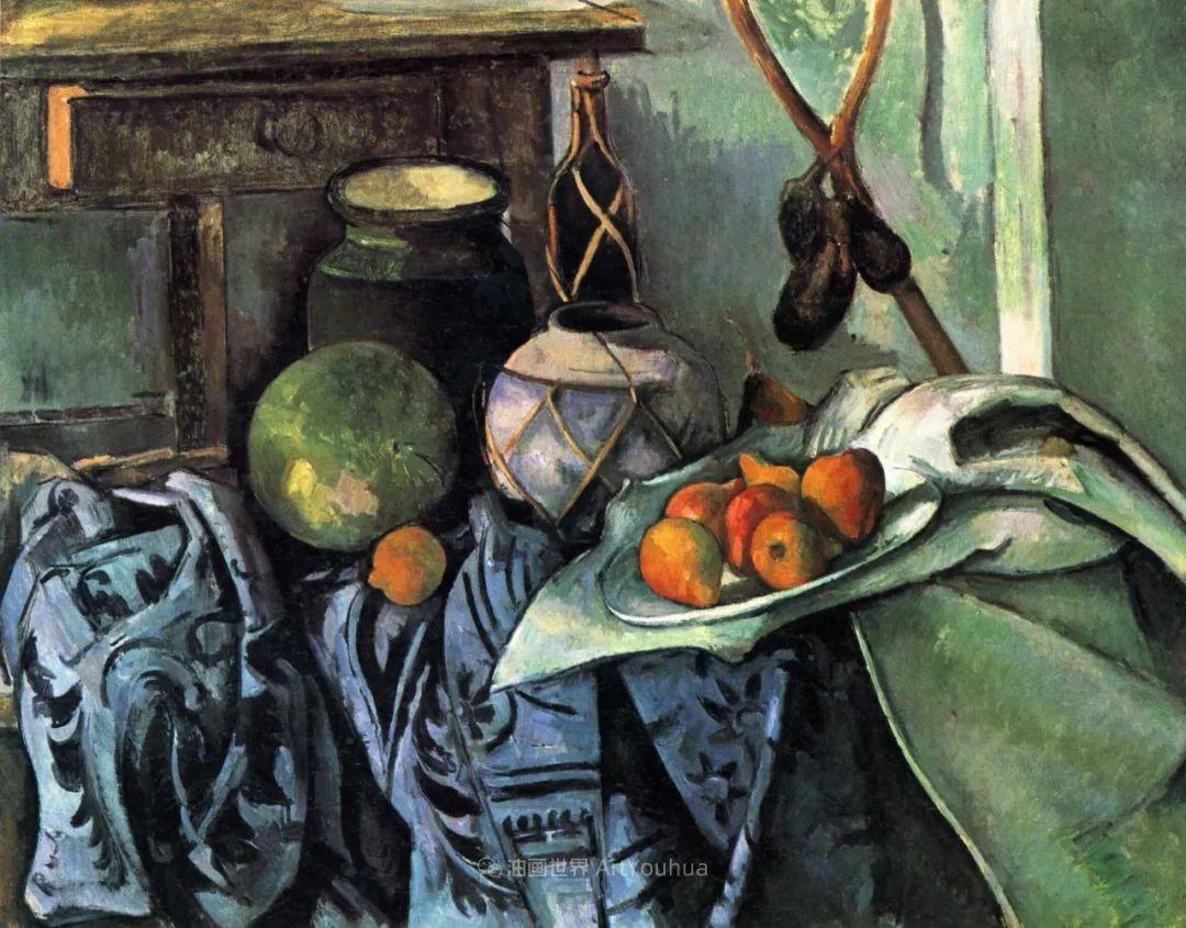 现代绘画之父塞尚,静物作品精选99幅插图91
