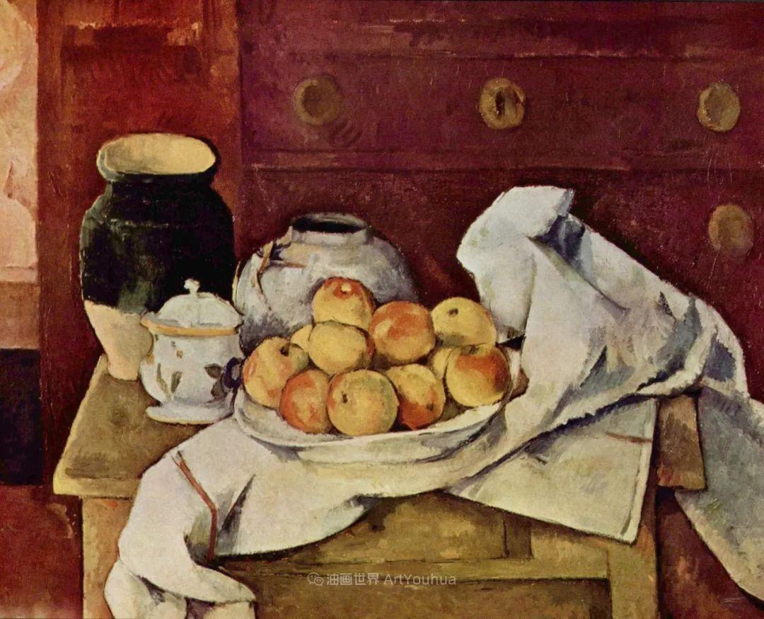 现代绘画之父塞尚,静物作品精选99幅插图109