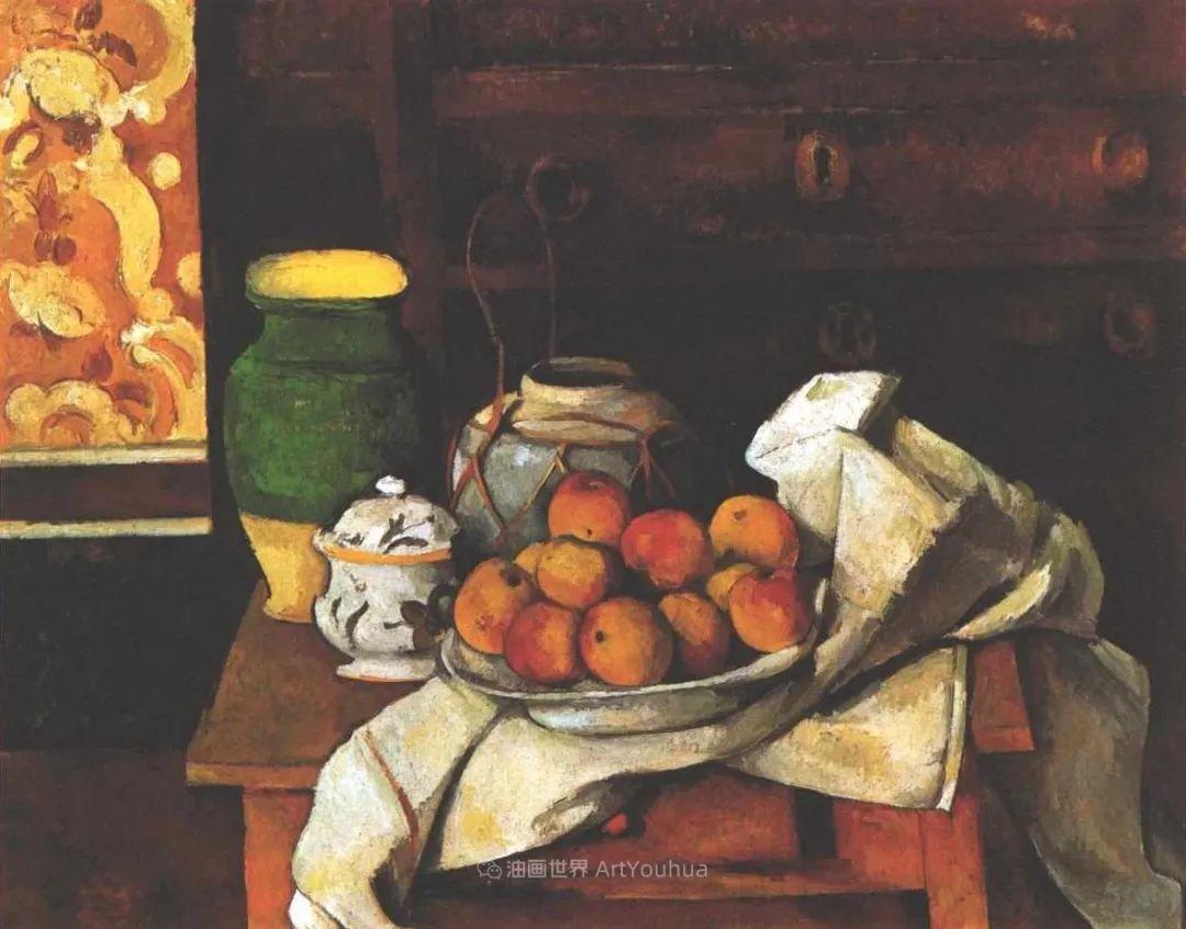 现代绘画之父塞尚,静物作品精选99幅插图113