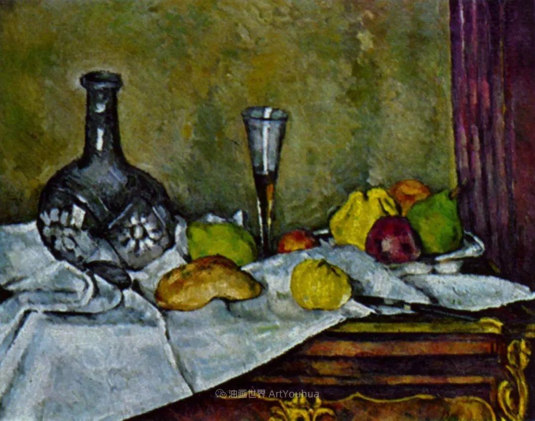 现代绘画之父塞尚,静物作品精选99幅插图117