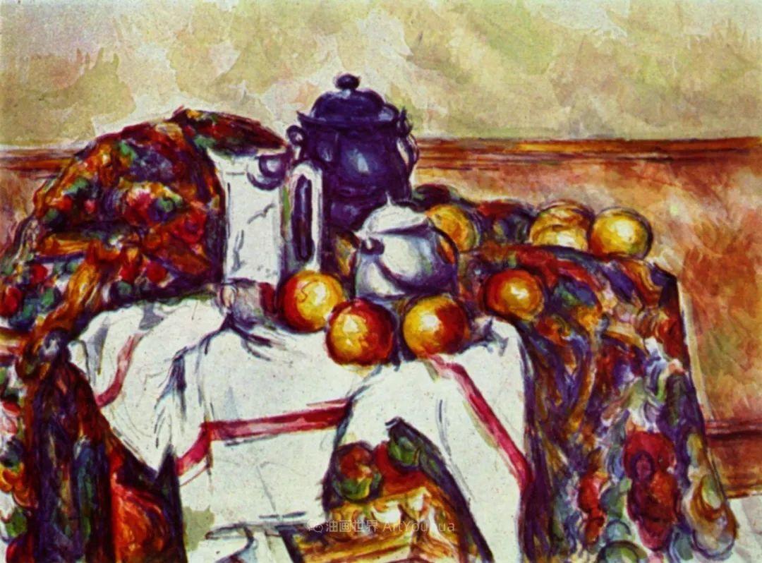 现代绘画之父塞尚,静物作品精选99幅插图119