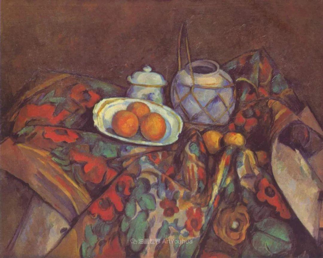 现代绘画之父塞尚,静物作品精选99幅插图121