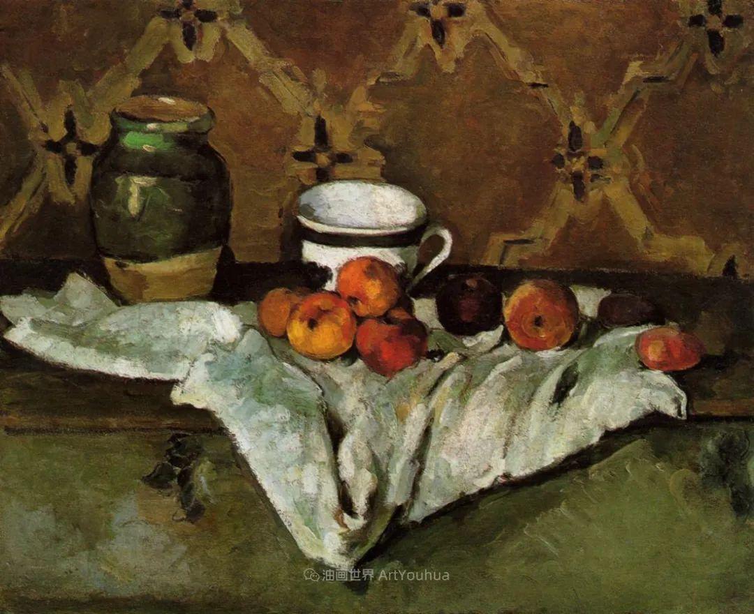 现代绘画之父塞尚,静物作品精选99幅插图123